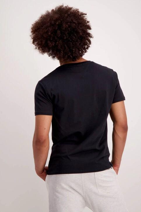 Tommy Hilfiger T-shirts (korte mouwen) zwart DM0DM04410078_078TOMMY BLACK img3
