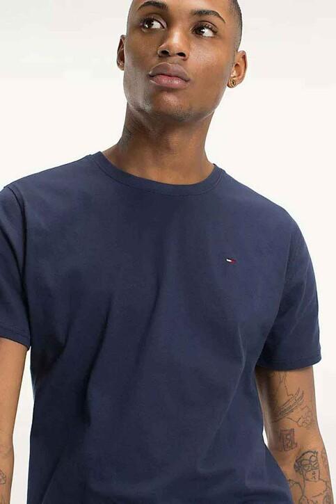 Tommy Hilfiger T-shirts (manches courtes) bleu DM0DM04411002_002BLACK IRIS img3