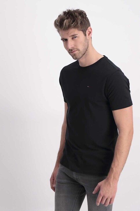 Tommy Hilfiger T-shirts (manches courtes) noir DM0DM04411078_078TOMMY BLACK img1