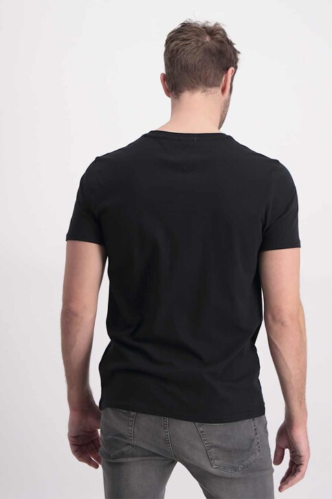 Tommy Hilfiger T-shirts (manches courtes) noir DM0DM04411078_078TOMMY BLACK img3