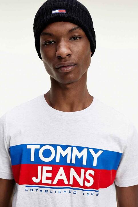 TOMMY JEANS T-shirts (korte mouwen) wit DM0DM09483PJ4_PJ4 SILVER GREY img3