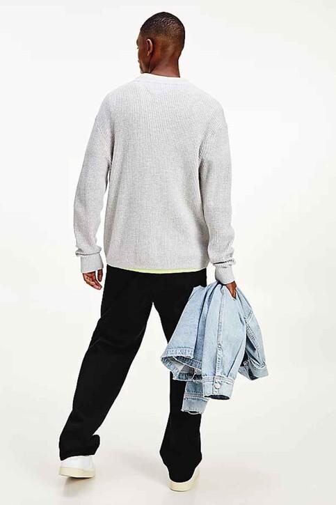 Tommy Hilfiger Sweaters met ronde hals wit DM0DM10183PJ4_PJ4 SILVER GREY img3