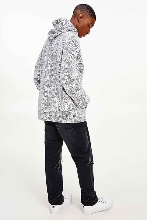 Tommy Hilfiger Sweaters met kap multicolor DM0DM10204YBR_YBR WHITE TWIL img3