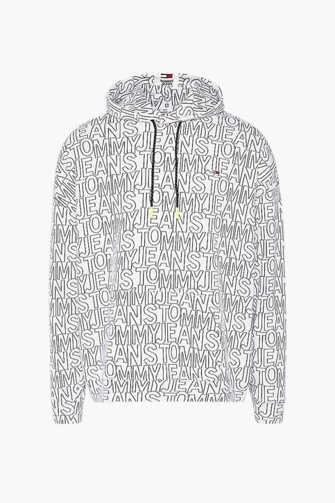 Tommy Hilfiger Sweaters met kap multicolor DM0DM10204YBR_YBR WHITE TWIL img4