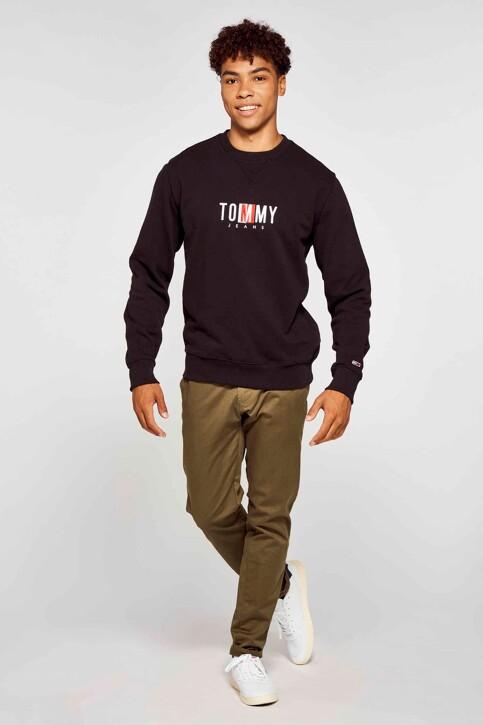 Tommy Hilfiger Sweaters met ronde hals zwart DM0DM10207BDS_BDS BLACK img2