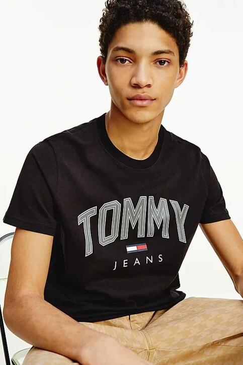 Tommy Hilfiger T-shirts (korte mouwen) zwart DM0DM10226BDS_BDS BLACK img1