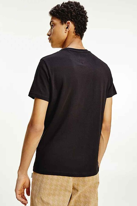Tommy Hilfiger T-shirts (korte mouwen) zwart DM0DM10226BDS_BDS BLACK img3