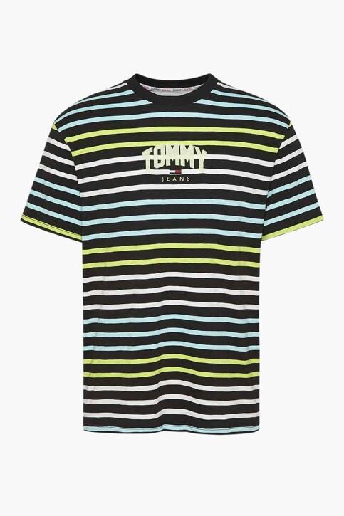 Tommy Hilfiger T-shirts (korte mouwen) zwart DM0DM10266BDS_BDS BLACK img1