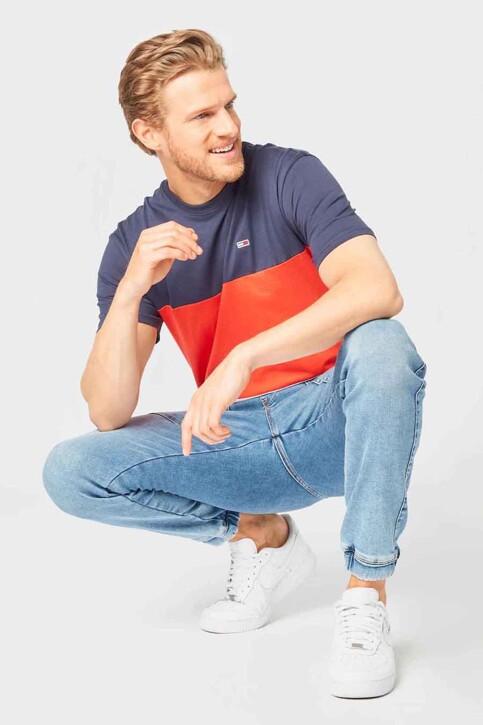 Tommy Hilfiger T-shirts (korte mouwen) blauw DM0DM10885XM2_XM2 HORIZON MUL img3