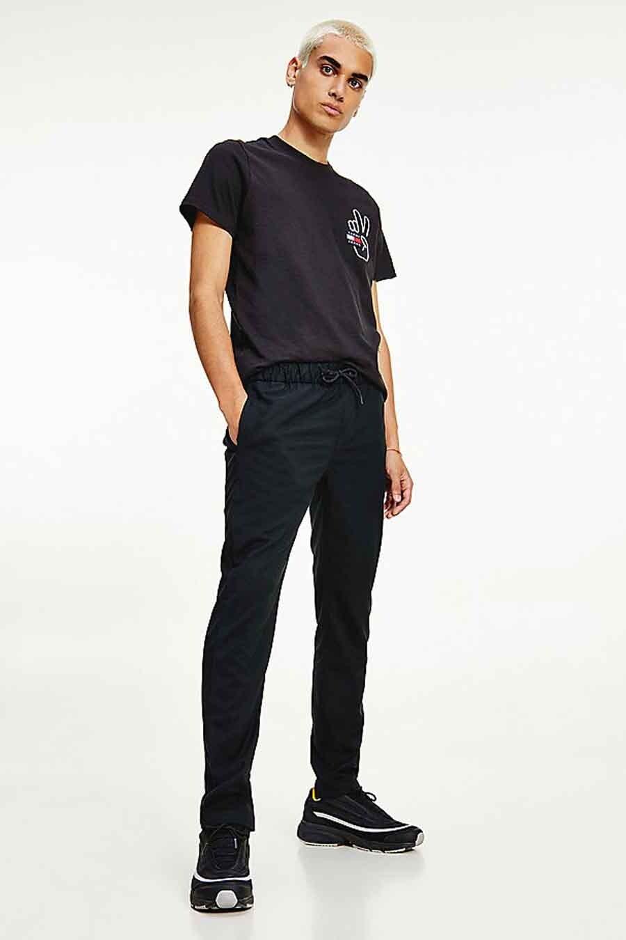 Tommy Jeans Jogging, Zwart, Heren, Maat: L/M/S/XL/XS