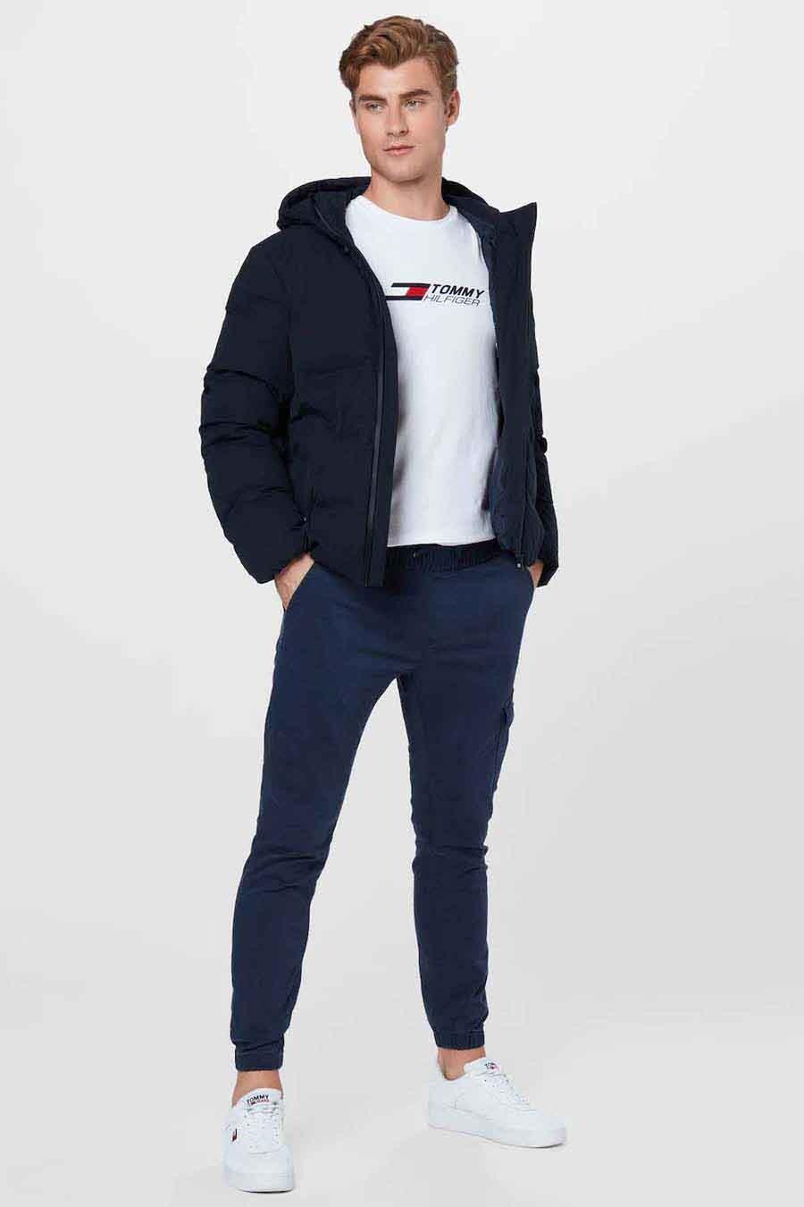 Tommy Jeans Jogging, Blauw, Heren, Maat: L/S/XL