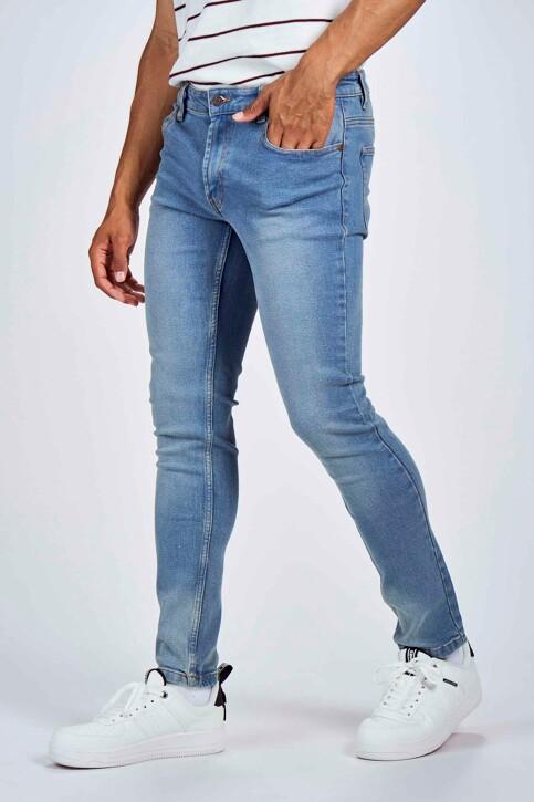 DENIM PROJECT Jeans slim denim DP1000044_044 LIGHT BLUE img1