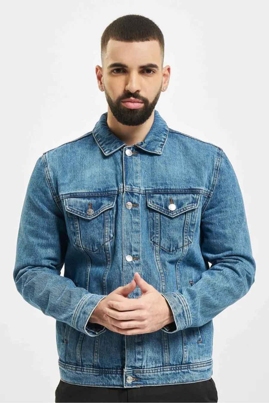 Denim Project Jas jeans, Denim, Heren, Maat: L/M/S
