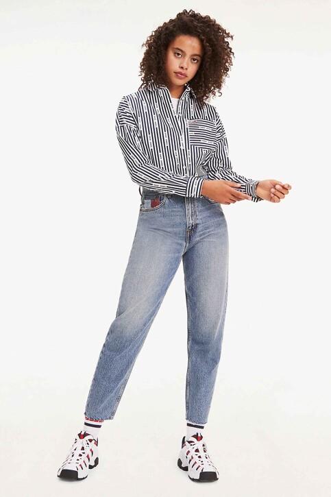 Tommy Hilfiger Mom Jeans denim DW0DW07682_1A5 IRON BL RIG img1