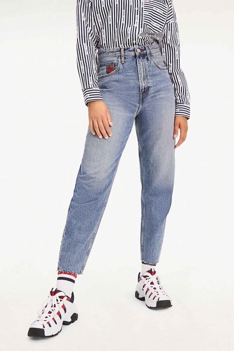 Tommy Hilfiger Mom Jeans denim DW0DW07682_1A5 IRON BL RIG img2