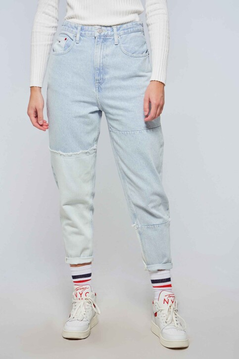 TOMMY JEANS Mom Jeans LIGHT BLUE DENIM DW0DW102861AB_1AB DENIM LIGHT img2