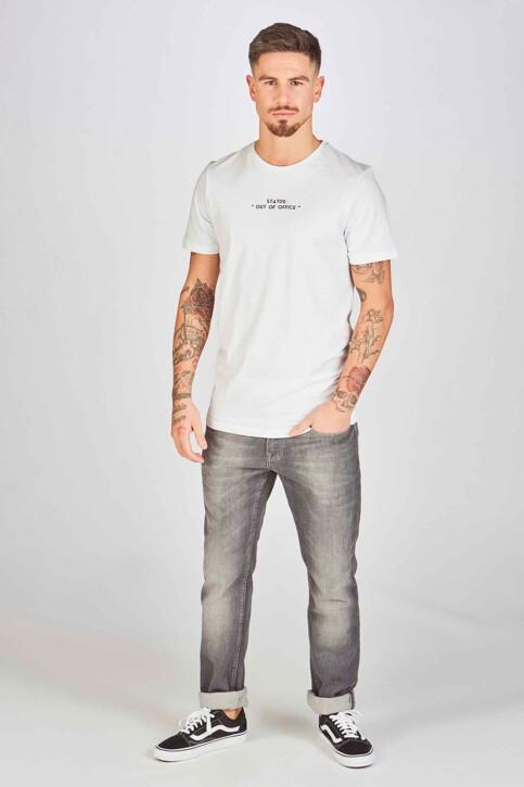DYJCode by Dennis Praet T-shirts (korte mouwen) wit DYJ193WT 004_WHITE img2