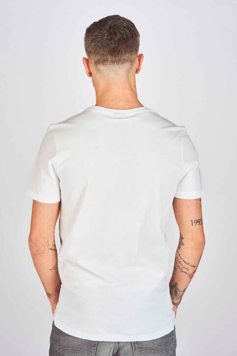 DYJCode by Dennis Praet T-shirts (korte mouwen) wit DYJ193WT 004_WHITE img3