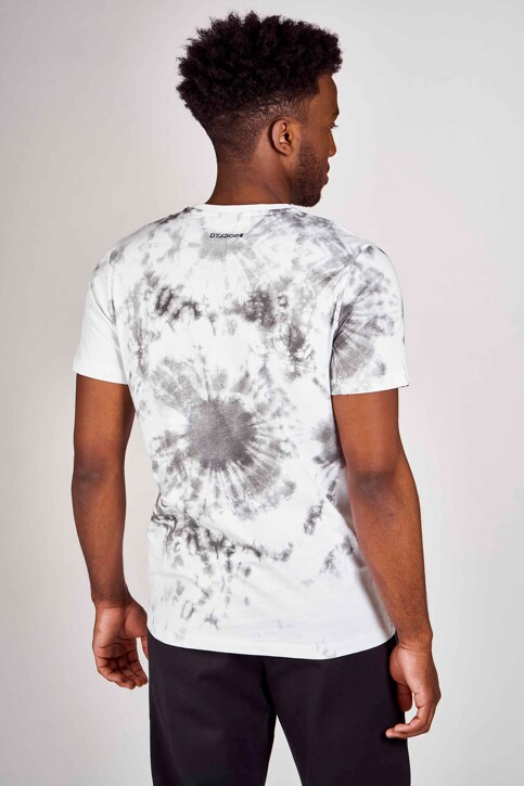 DYJCode by Dennis Praet T-shirts (manches courtes) blanc DYJ201MT 002_WHITE img3