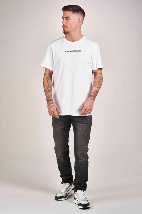 DYJCode by Dennis Praet T-shirts (manches courtes) blanc DYJ201MT 008_WHITE img2