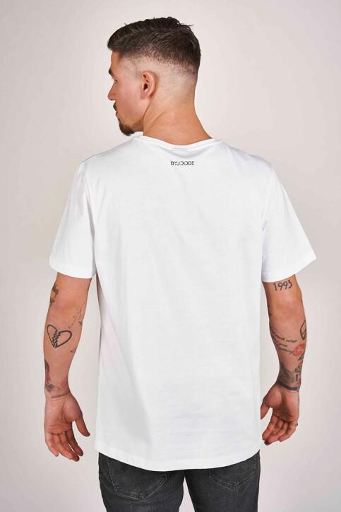 DYJCode by Dennis Praet T-shirts (manches courtes) blanc DYJ201MT 008_WHITE img3