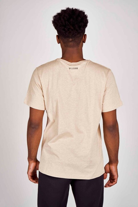 DYJCode by Dennis Praet T-shirts (manches courtes) beige DYJ201MT 013_SAND img3