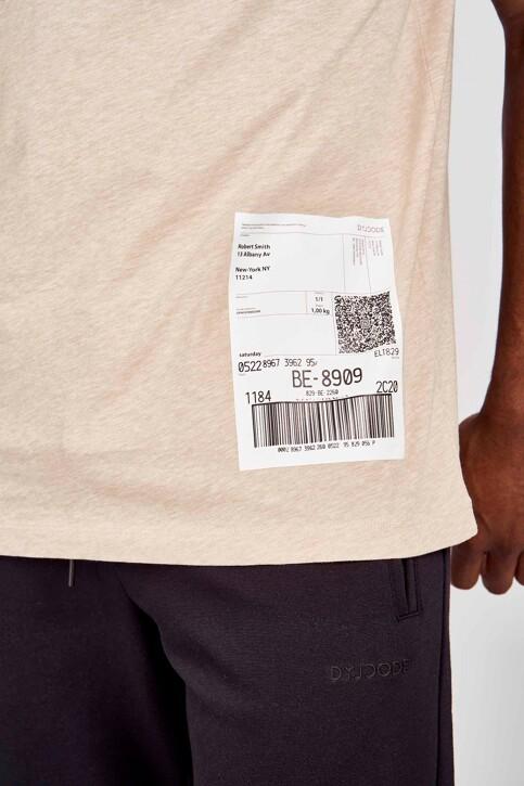 DYJCode by Dennis Praet T-shirts (korte mouwen) beige DYJ201MT 013_SAND img4