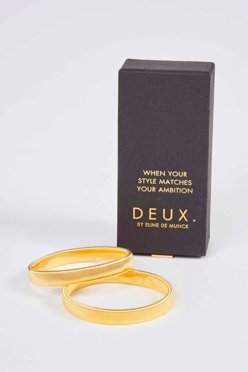 DEUX. by Eline De Munck Armbanden geel EDM191WA 008_GOLD img1