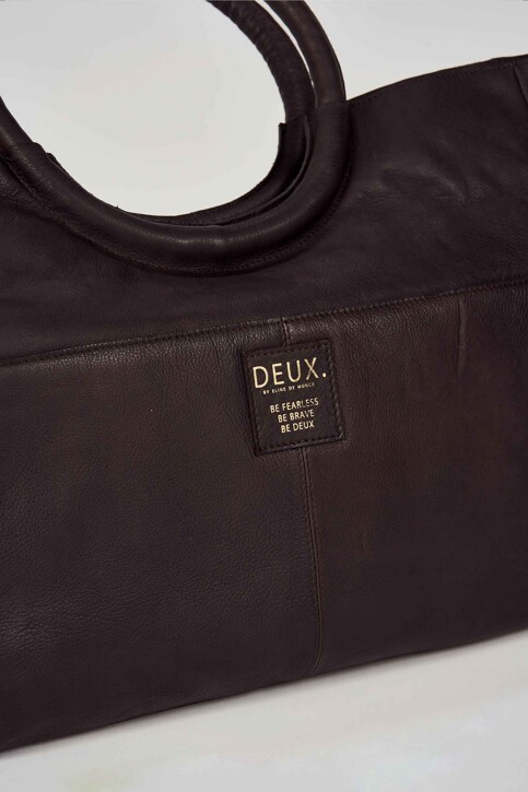 DEUX. by Eline De Munck Sacoches brun EDM192WA 005_GANACHE img3