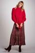 DEUX. by Eline De Munck Truien met ronde hals roze EDM202WT 011_HOT CORAL img2