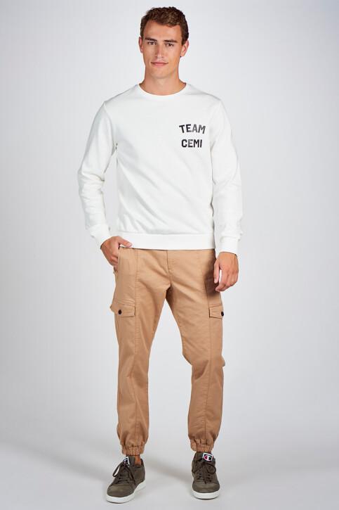 CEMI by Céline & Michiel Sweaters met ronde hals wit EMI202MT 005_WHITE img2