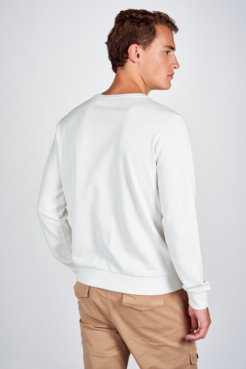 CEMI by Céline & Michiel Sweaters met ronde hals wit EMI202MT 005_WHITE img3