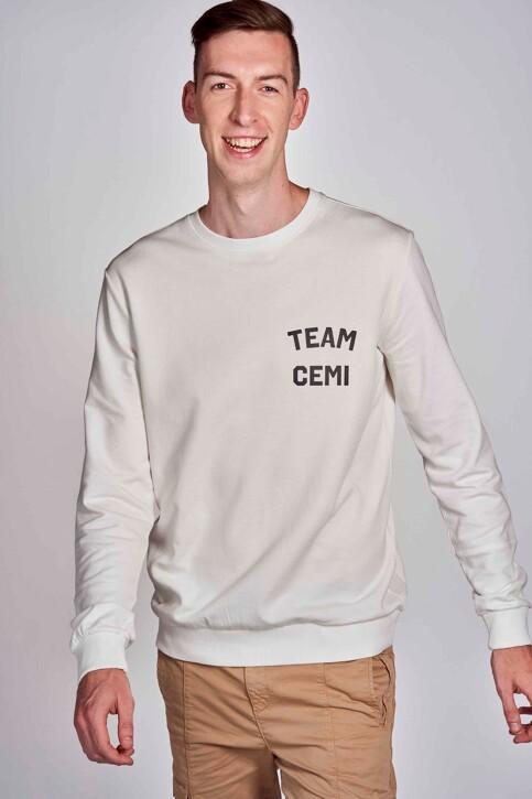 CEMI by Céline & Michiel Sweaters met ronde hals wit EMI202MT 005_WHITE img5
