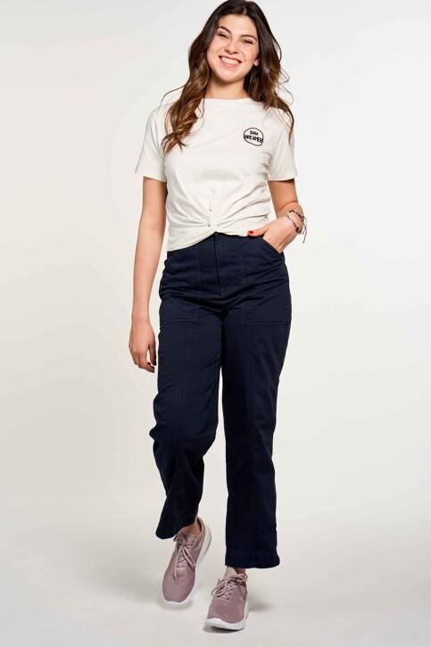 CEMI by Céline & Michiel T-shirts (korte mouwen) wit EMI211WT 015_OFF WHITE img1
