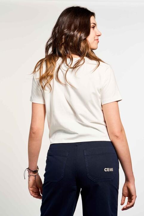 CEMI by Céline & Michiel T-shirts (korte mouwen) wit EMI211WT 015_OFF WHITE img3