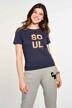 CEMI by Céline & Michiel T-shirts (korte mouwen) blauw EMI211WT 025_NAVY img2
