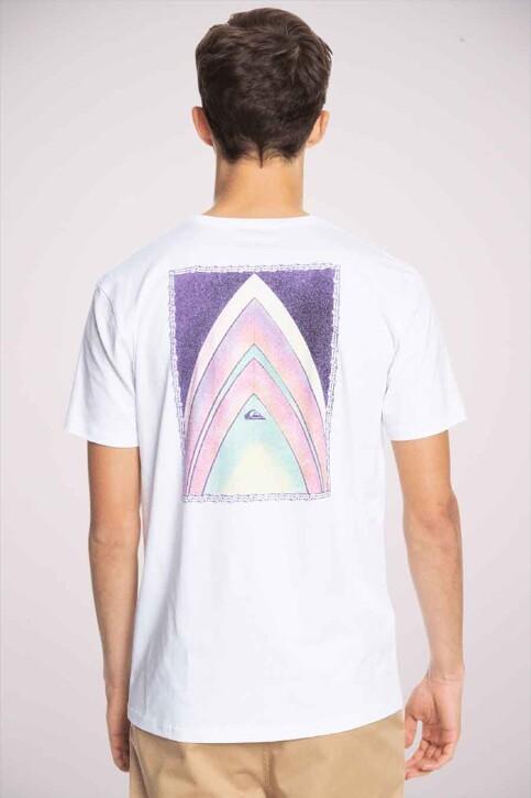 Quiksilver T-shirts (korte mouwen) wit EQYZT06316WBB0_WBB0 WHITE img1