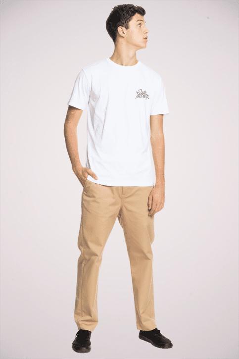 Quiksilver T-shirts (korte mouwen) wit EQYZT06316WBB0_WBB0 WHITE img2