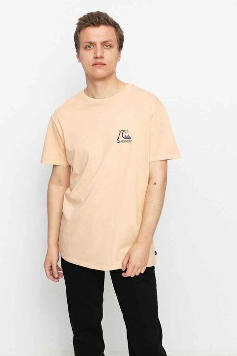 Quiksilver T-shirts (korte mouwen) oranje EQYZT06354NEZ0_NEZ0 APRICOT img1