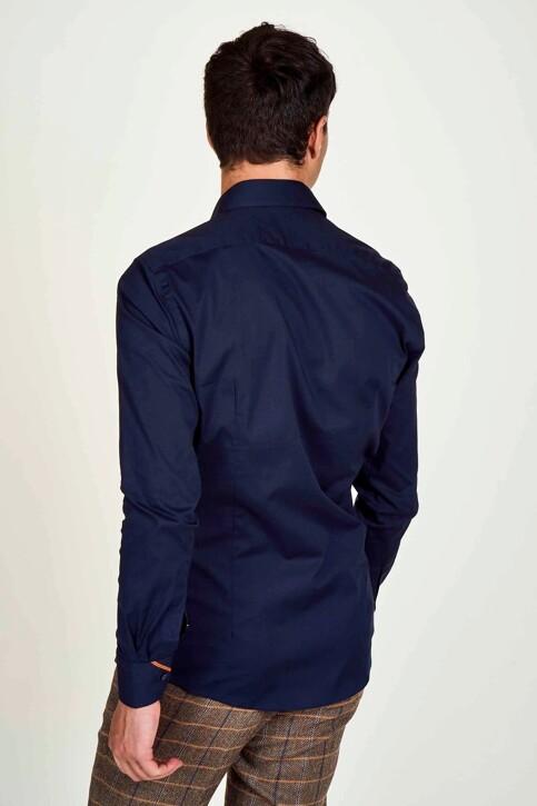 Le Fabuleux Marcel de Bruxelles Hemden (lange mouwen) blauw IMP194MT 025_NAVY img2