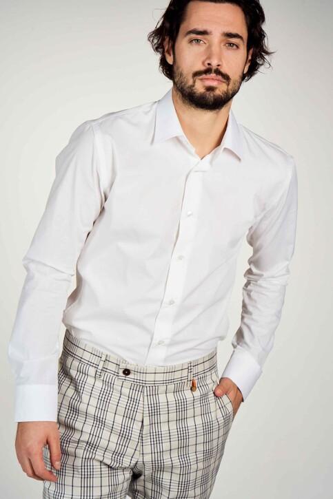 Le Fabuleux Marcel de Bruxelles Hemden (lange mouwen) wit IMP194MT 029_WHITE img2