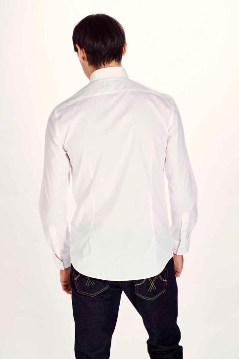 Le Fabuleux Marcel de Bruxelles Hemden (lange mouwen) wit IMP194MT 029_WHITE img3
