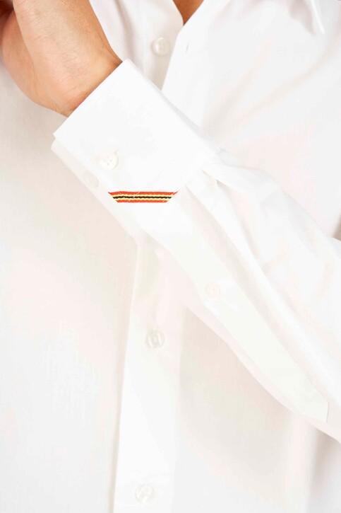 Le Fabuleux Marcel de Bruxelles Hemden (lange mouwen) wit IMP194MT 029_WHITE img4