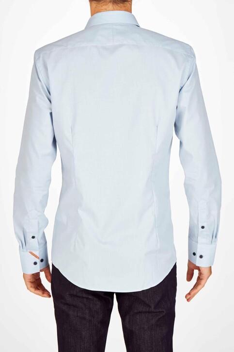 Le Fabuleux Marcel de Bruxelles Hemden (lange mouwen) blauw IMP194MT 030_BLUE img2