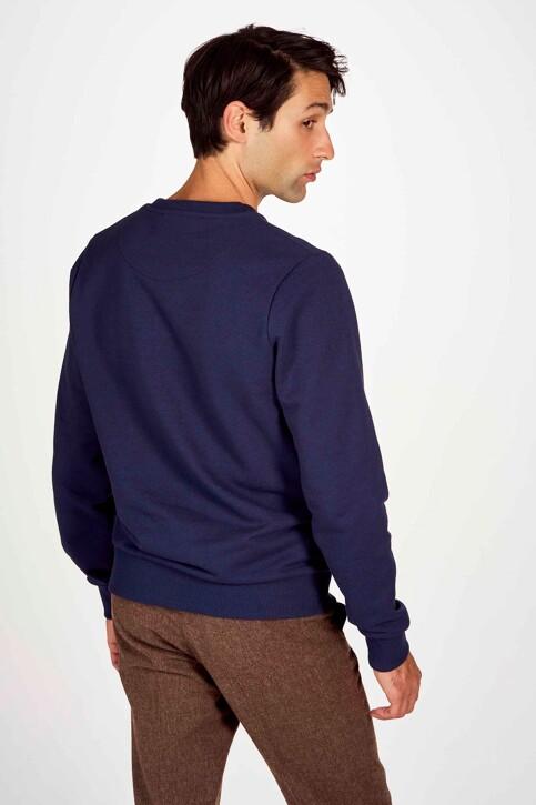 Le Fabuleux Marcel de Bruxelles Sweaters met ronde hals blauw IMP202MT 018_NAVY img3