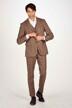 Le Fabuleux Marcel de Bruxelles Kostuumbroeken beige IMP204MT 011_SAND CHECK img2
