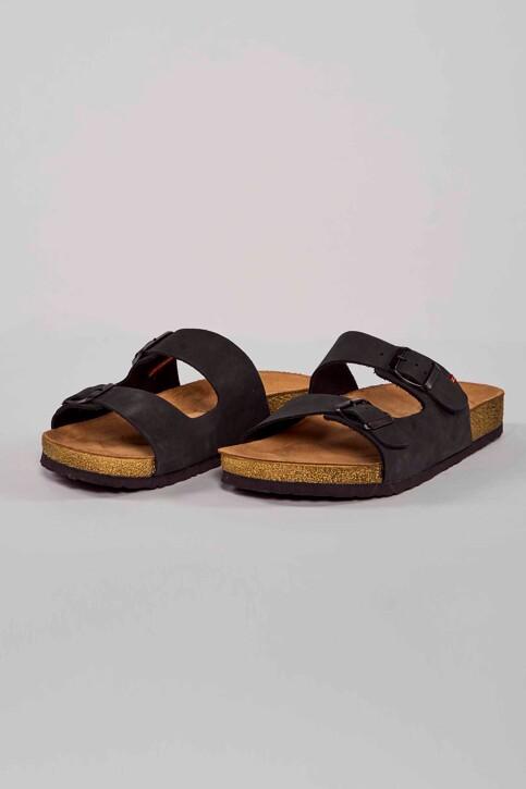 Le Fabuleux Marcel de Bruxelles Slippers zwart IMP211MA 005_BLACK img1