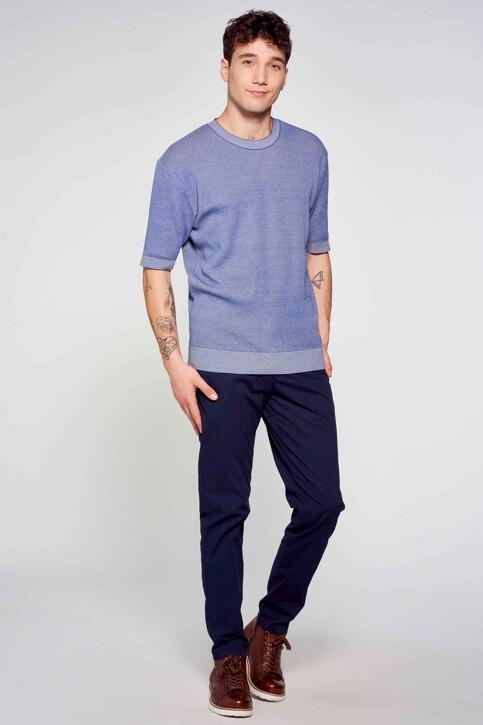 Le Fabuleux Marcel de Bruxelles T-shirts (korte mouwen) blauw IMP211MT 009_BLUE img1