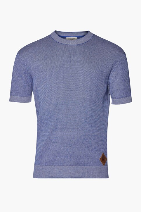 Le Fabuleux Marcel de Bruxelles T-shirts (korte mouwen) blauw IMP211MT 009_BLUE img4