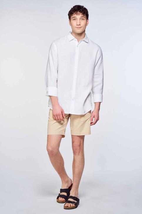 Le Fabuleux Marcel de Bruxelles Hemden (lange mouwen) wit IMP211MT 016_WHITE img1